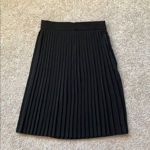 6e486c2a9 American Apparel. American Apparel black pleated skirt ...